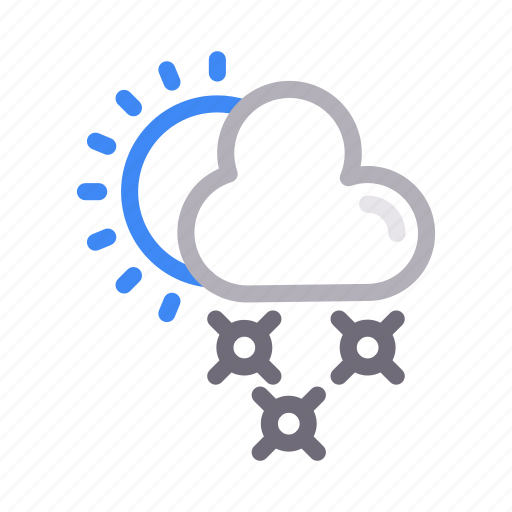 climate, cloud, forecast, sun, weather icon