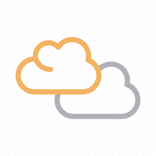climate, clouds, forecast, nature, weather icon