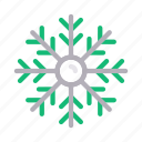 air, climate, flake, snow, weather icon