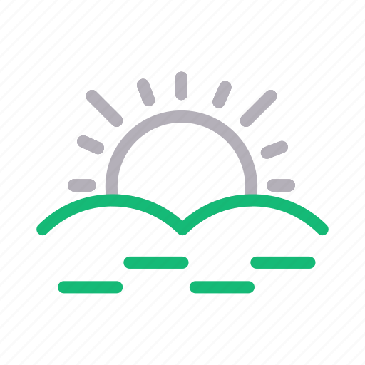 climate, forecast, summer, sun, weather icon