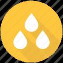 drops, rain, water, weather, wet