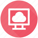 check weather, cloud, monitor, weather