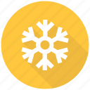 cool, frost, snow, snowflake, weather icon