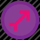 arrow, direction, forecast, weather icon