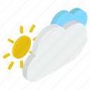atmosphere, climate, increasing clouds, partly cloudy, weather, weather forecast