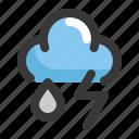 climate, cloud, forecast, rain, thunder, weather