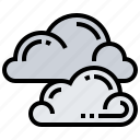 air, atmosphere, cloud, forecast, sky icon