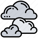 cloudy, moody, overcast, sky, weather icon