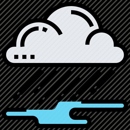 cloud, raining, season, spring, wet icon