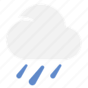 heavy, heavyrain, rain, weather icon