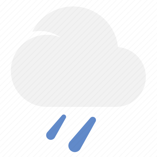 Moderaterain, cloud, rain, weather icon - Download on Iconfinder