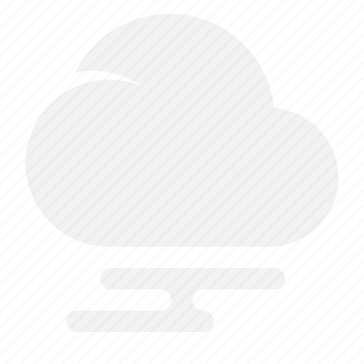 cloud, foggy, moon, weather icon