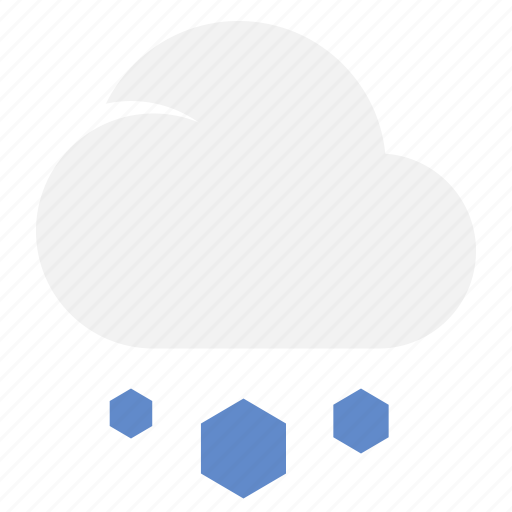 Hail, cloud, snow, weather icon - Download on Iconfinder