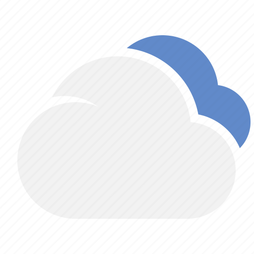 cloud, clouds, night, weather icon