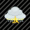 cloud, cloudy, lightning, rain, rainy, thunder, weather