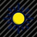 climate, daylight, summer, sun, weather