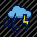 flash, rain, strom, weather, wind