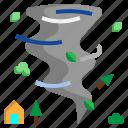 damage, destruction, disaster, natural, tornado