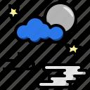 atmospheric, cloudy, meteorology, night, sky, weather