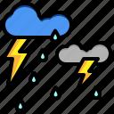 drops, heavy, miscellaneous, rain, winds, windy