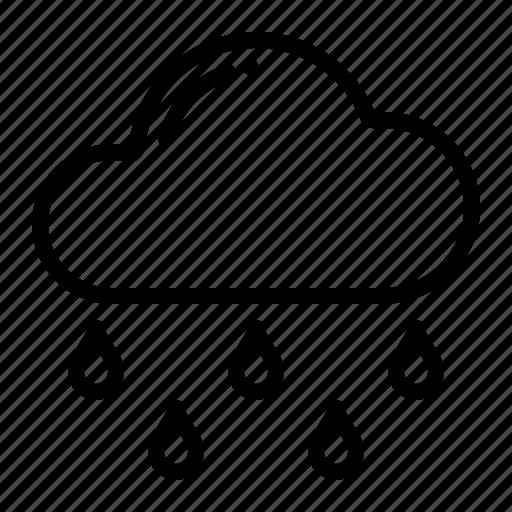 Rain, weather, cloud, rainy icon - Download on Iconfinder