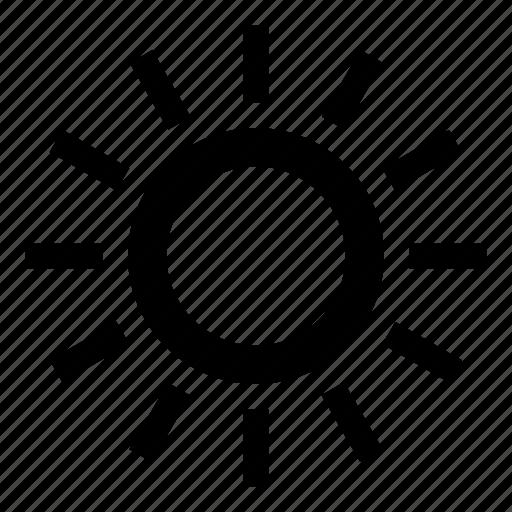 light, solar, space, sun, sunny, weather icon