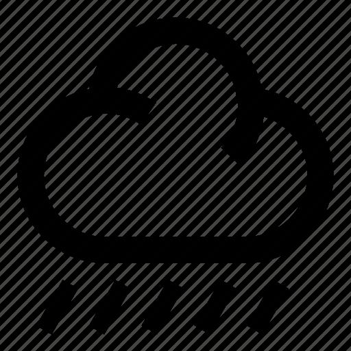 cloud, forecasting, rain, rainy, storm, weather, weather forecast icon