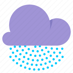 cloud, drizzle, mist, weather icon