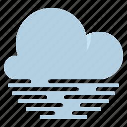 cloud, fog, haze, weather icon
