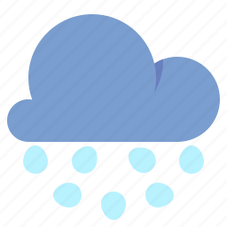 cloud, cold, hail, weather icon