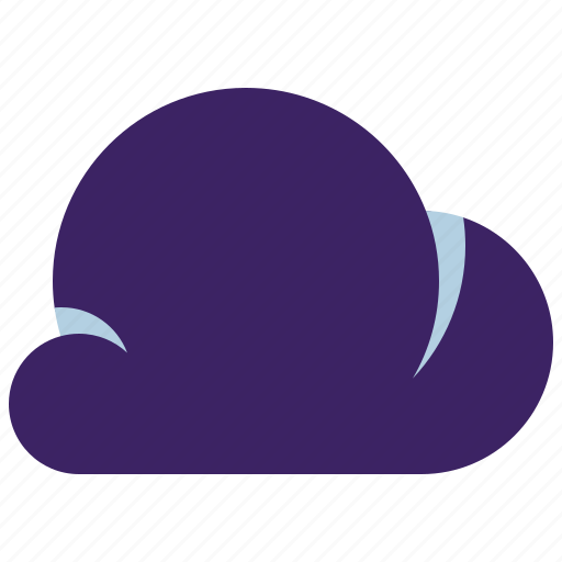 cloud, clouds, thunderstorm, weather icon