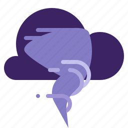 cloud, tornado, weather, wind icon