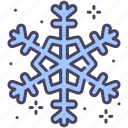 christmas, cold, flake, season, snow, snowflake, winter icon