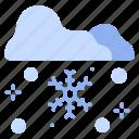 cold, frost, nature, season, snow, snowflake, winter icon