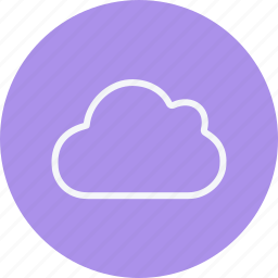 cloud, computing, forecast, rain, snow, storm, weather icon