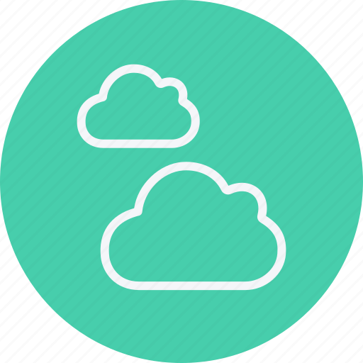 cloud, cloudy, forecast, rain, storm, temperature, weather icon