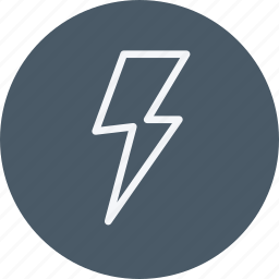 citycons, cloudy, flash, light, thunder, thunderbolt, weather icon