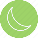 phases, moon, forecast, sky, cloud, night icon