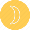 cloud, forecast, moon, night, phases, sky, star icon