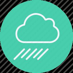 cloud, forecast, night, rain, rainy, sky, umbrella icon
