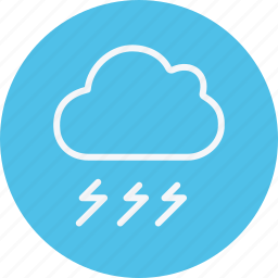 cloud, cloudy, forecast, rain, sky, storm, weather icon