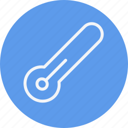 clouds, forecast, night, temperature, thermometer, weather, winter icon