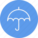 forecast, protection, rain, safety, sunshade, umbrella, weather icon