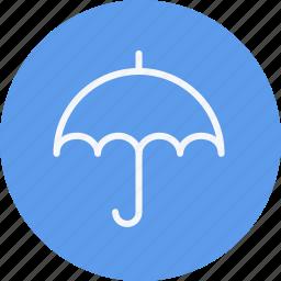 forecast, protection, rain, safety, sunshade, umbrella, weather icon