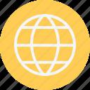 globe, grid, communication, earth, global, planet, world