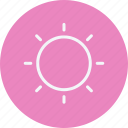 forecast, hot, sun, sunlight, sunny, sunshine, weather icon