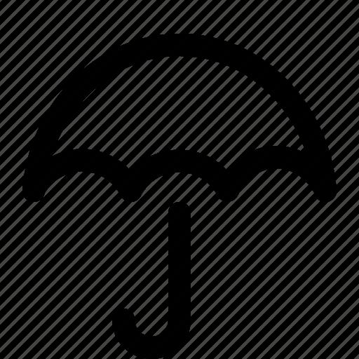 open, rain, umbrella, wet icon