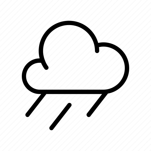 cloud, rain, storm, weather, widget icon