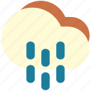 drizzle, dull, gloomy, rain, storm, wet icon