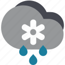 cold, rain, snow, snowy, storm icon